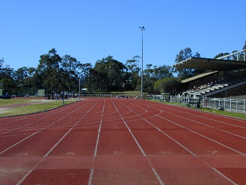 Narrabeen track - From the 100m Start